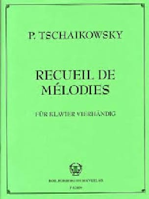 TCHAIKOWSKY - Series 2 Melodies. 4 Hands - Partition - di-arezzo.co.uk