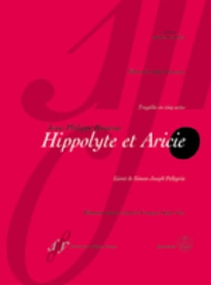 Jean-Philippe Rameau - Hippolyte and Aricie - Partition - di-arezzo.co.uk