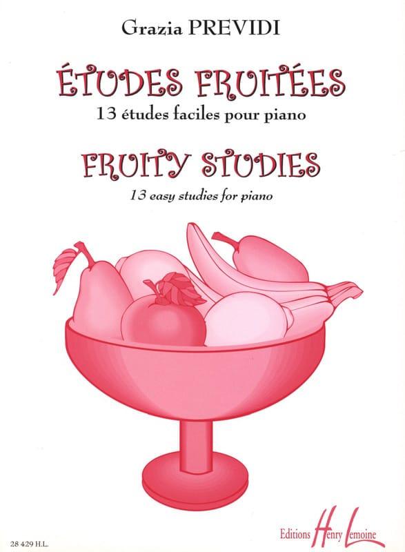 Grazia Previdi - Fruity Studies - Partition - di-arezzo.co.uk