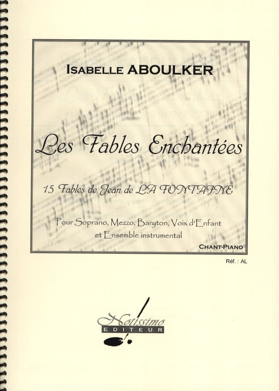 Isabelle Aboulker - The Enchanted Fables - Partition - di-arezzo.com