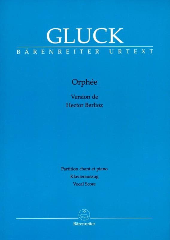 GLUCK - Orpheus - Partition - di-arezzo.co.uk