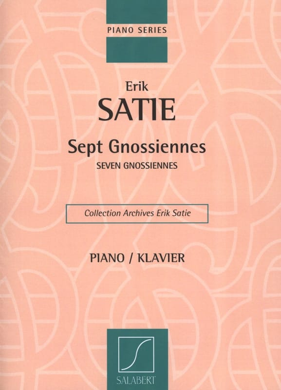 Erik Satie - 7 Gnossians - Partition - di-arezzo.co.uk