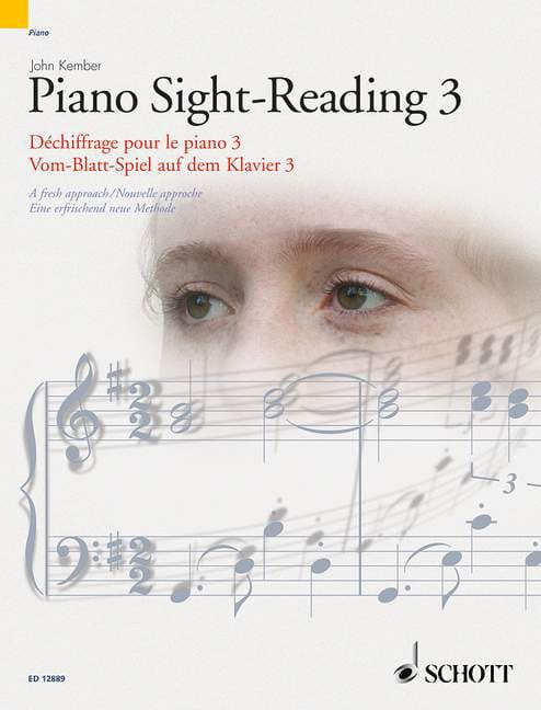 John Kember - Piano Sight-Reading Volume 3 - Partition - di-arezzo.co.uk
