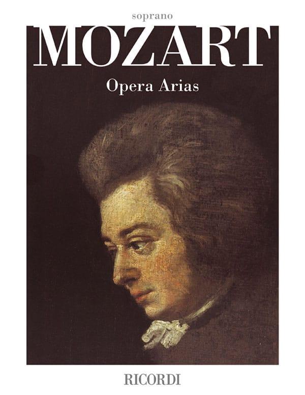Opera Arias. Soprano - MOZART - Partition - laflutedepan.com