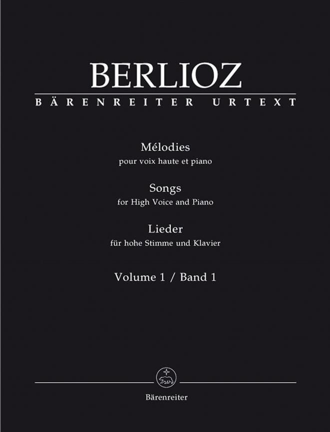 BERLIOZ - Volumen de melodías 1. Voz alta - Partition - di-arezzo.es