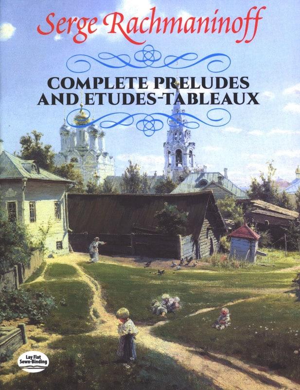 Complete Prelude And Etudes-Tableaux - RACHMANINOV - laflutedepan.com