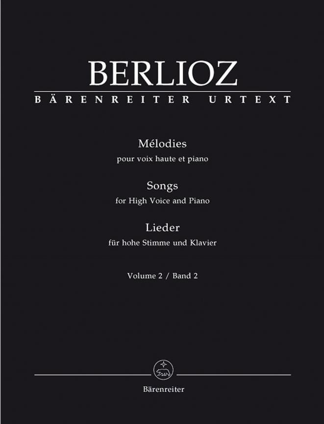 BERLIOZ - Melodías de volumen 2. Alta voz - Partition - di-arezzo.es