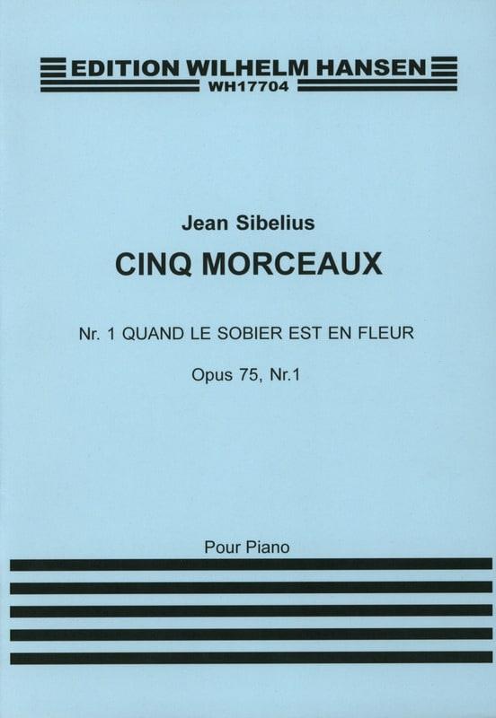 Quand le Sorbier Est En Fleur Op. 75-1 - SIBELIUS - laflutedepan.com