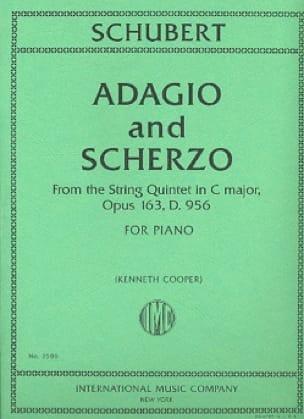 Adagio And Scherzo Op. 163, D 956 - SCHUBERT - laflutedepan.com