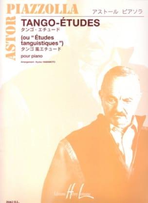 Astor Piazzolla - Tango-Etudes - Partition - di-arezzo.co.uk