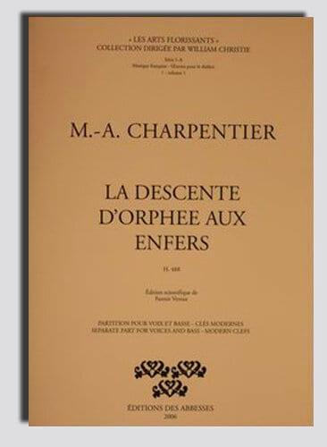 Marc-Antoine Charpentier - Orpheus Descent In The Underworld - Partition - di-arezzo.com