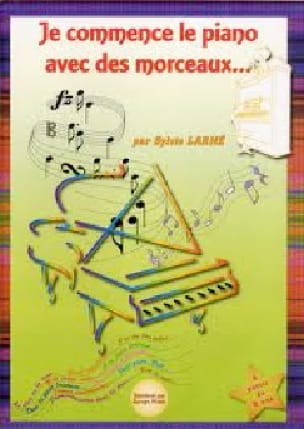 Sylvie Larné - I start the piano with pieces - Partition - di-arezzo.co.uk
