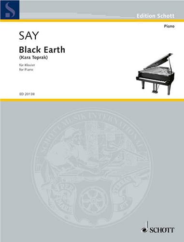 Fazil Say - Black Earth Kara Toprak - Partition - di-arezzo.co.uk