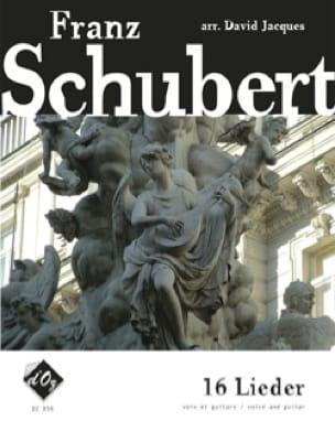 16 Lieder - SCHUBERT - Partition - Guitare - laflutedepan.com