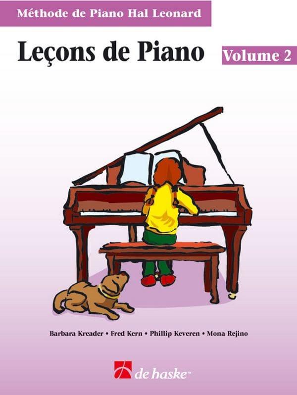 Kreader / Kern Jerome / Keveren / Rejino - Lecciones de piano Volumen 2 CD - Partition - di-arezzo.es