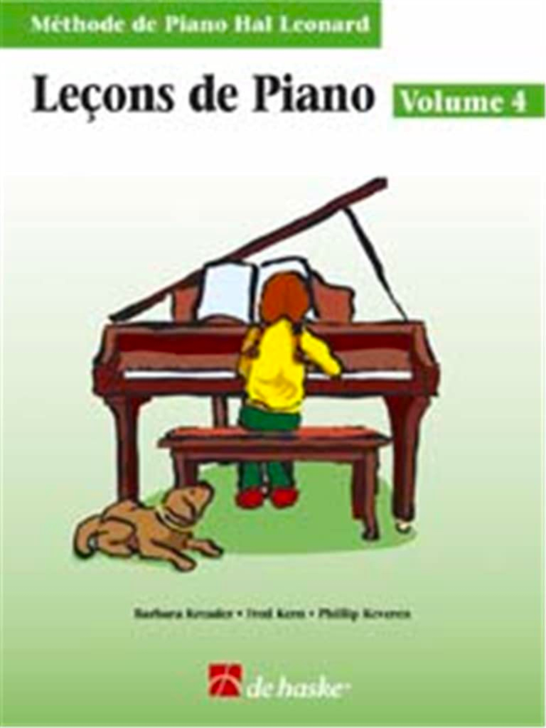 Kreader / Kern Jerome / Keveren / Rejino - Lezioni di piano Volume 4 - Partition - di-arezzo.it
