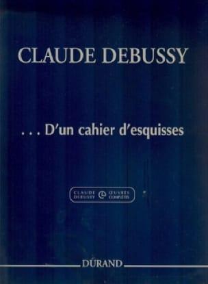 ... D'un cahier d'esquisses - DEBUSSY - Partition - laflutedepan.com