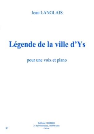 Légende de La Ville d' Ys Op. 55b. - Jean Langlais - laflutedepan.com