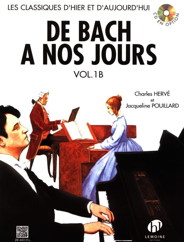 DE BACH A NOS JOURS - from Bach to the present day - Volume 1B - Partition - di-arezzo.com