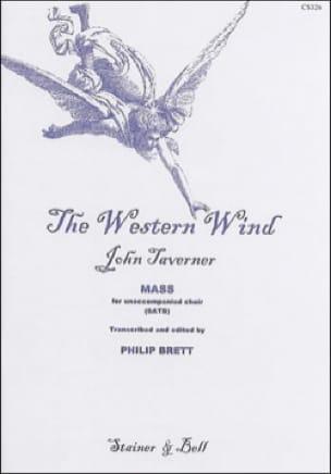 The Western Wind - John Taverner - Partition - laflutedepan.com
