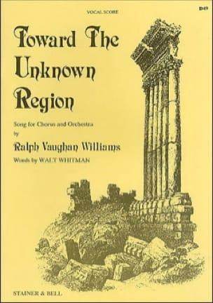 Toward The Unknown Region - WILLIAMS VAUGHAN - laflutedepan.com