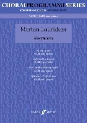 Nocturnes - Morten Lauridsen - Partition - Chœur - laflutedepan.com