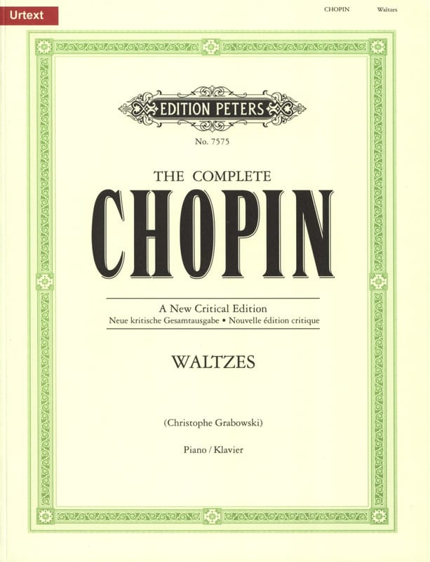 Valses - CHOPIN - Partition - Piano - laflutedepan.be