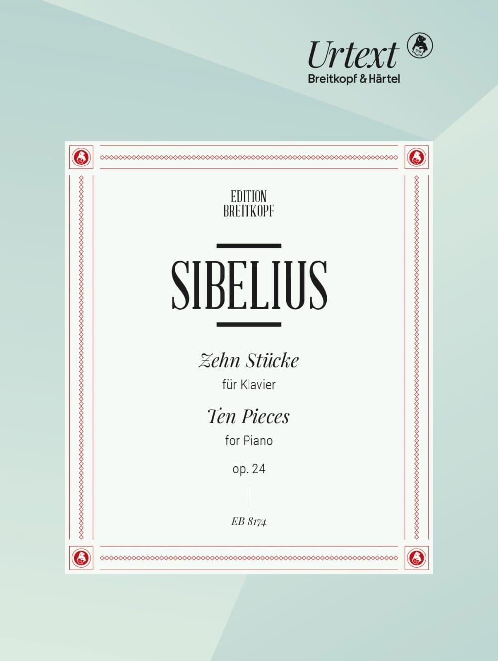 Jean Sibelius - 10 Stücke Op. 24 - Partition - di-arezzo.com