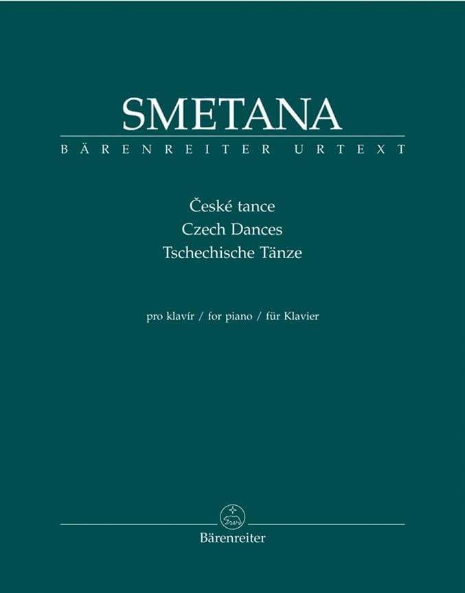 Bedrich Smetana - Czech dances - Partition - di-arezzo.com