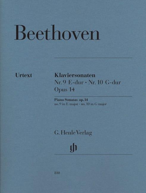 Sonates Pour Piano N° 9 et N° 10 Opus 14 - laflutedepan.com