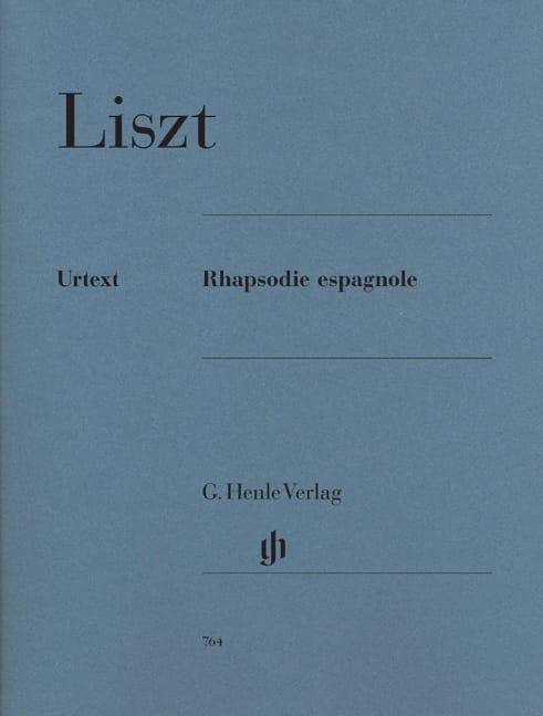 Rhapsodie Espagnole - LISZT - Partition - Piano - laflutedepan.be