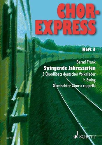 Chor Express 3 - Partition - Chœur - laflutedepan.com