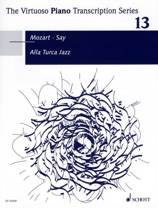 Alla Turca Jazz - SAY / MOZART - Partition - Piano - laflutedepan.com