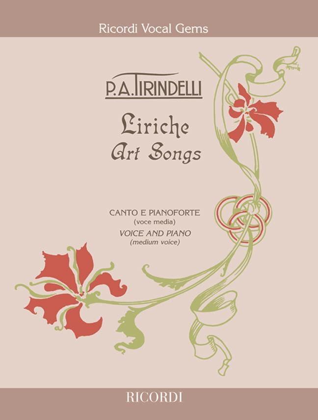 Liriche - Tirindelli - Partition - Mélodies - laflutedepan.com