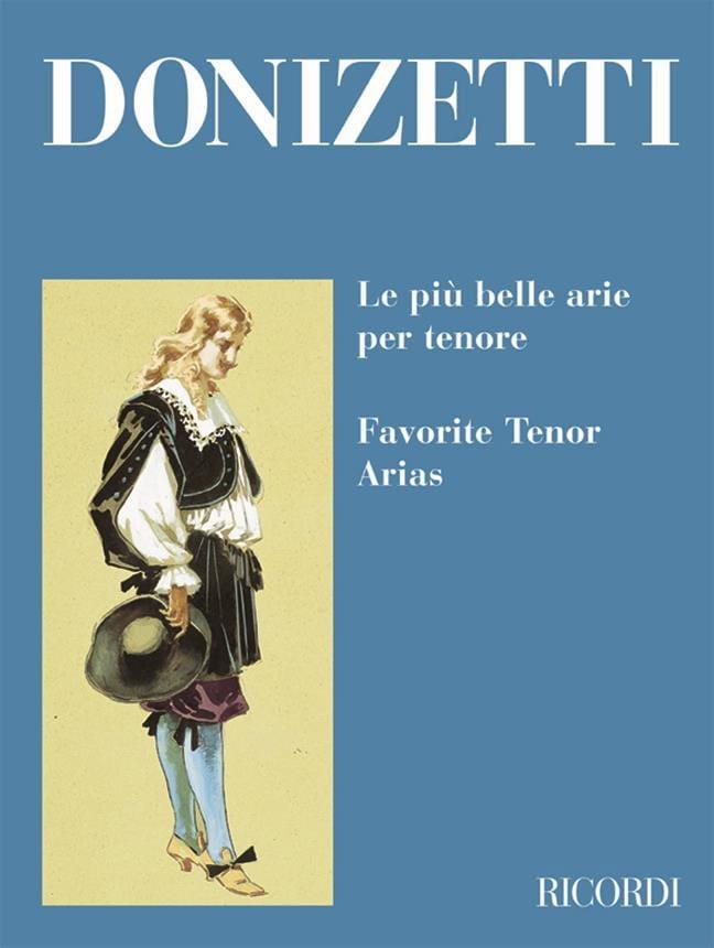 Gaetano Donizetti - The Piu Belle Arie Per Tenore - Partition - di-arezzo.co.uk