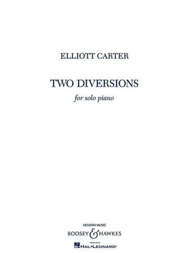Elliott Carter - 2 diversiones - Partition - di-arezzo.es