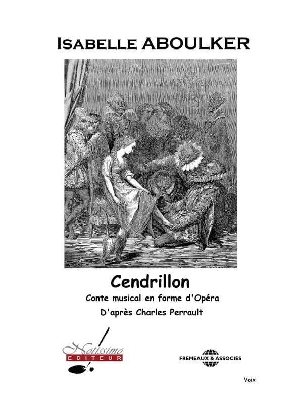 Cendrillon. Chant seul - Isabelle Aboulker - Livre - laflutedepan.com