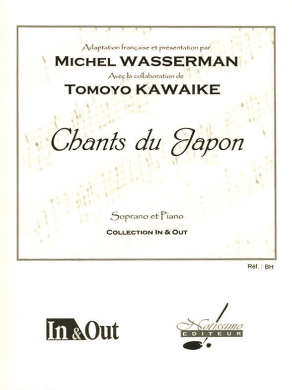 Chants Du Japon - Wasserman Michel / Kawaike Tomoyo - laflutedepan.com