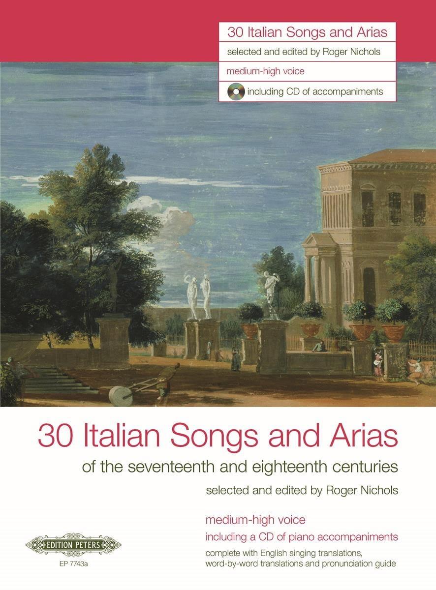 30 Italienische Lieder Und Arien des 17. Und 18. Jahrhunderts. Voix Haute - laflutedepan.com