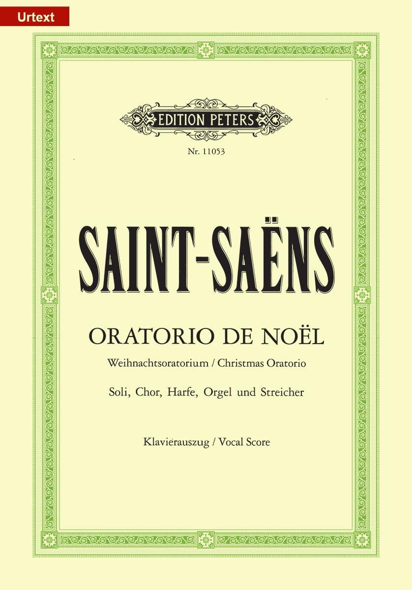 Camille Saint-Saëns - Christmas Oratorio - Partition - di-arezzo.co.uk