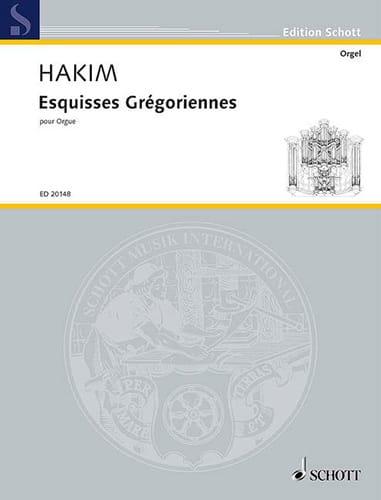 Naji Hakim - Bocetos gregorianos - Partition - di-arezzo.es