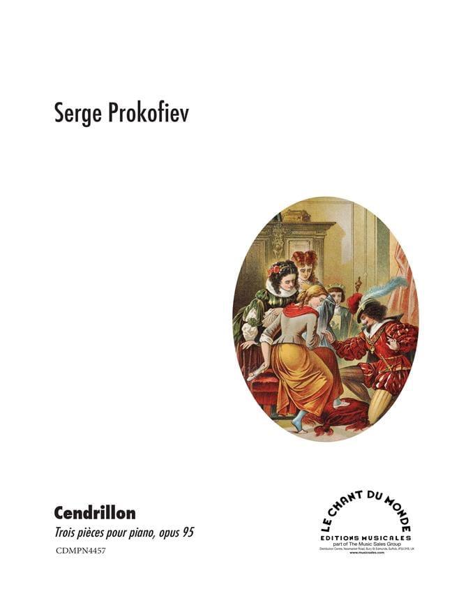 Trois Pieces de Cendrillon Opus 95 - PROKOFIEV - laflutedepan.com