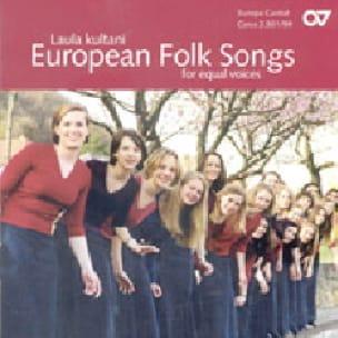 European Folk Songs Voix égales CD - Partition - laflutedepan.com