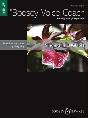 Singing In English Voix Grave - Partition - laflutedepan.com
