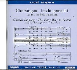 Requiem. CD Ténor - FAURÉ - Partition - Chœur - laflutedepan.com