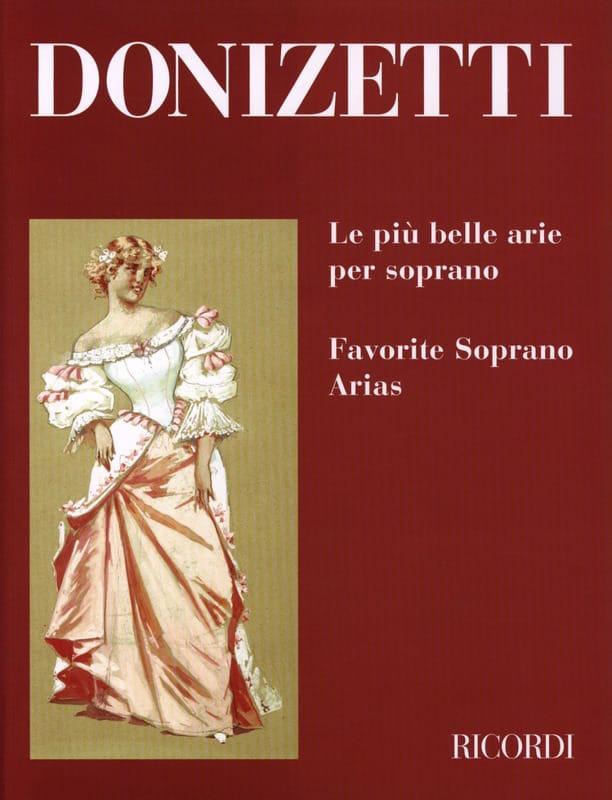 Gaetano Donizetti - The Piu Belle Arie Per Soprano - Partition - di-arezzo.co.uk