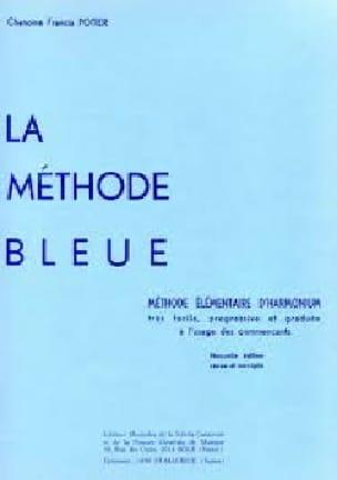 Méthode Bleue - Francis Potier - Partition - Orgue - laflutedepan.com