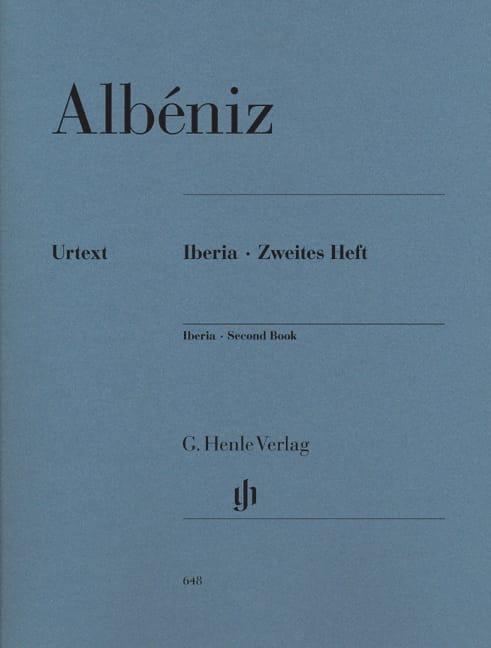 Iberia - Deuxième cahier - ALBENIZ - Partition - laflutedepan.com