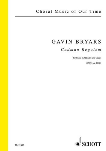 Cadman Requeim - Gavin Bryars - Partition - Chœur - laflutedepan.com