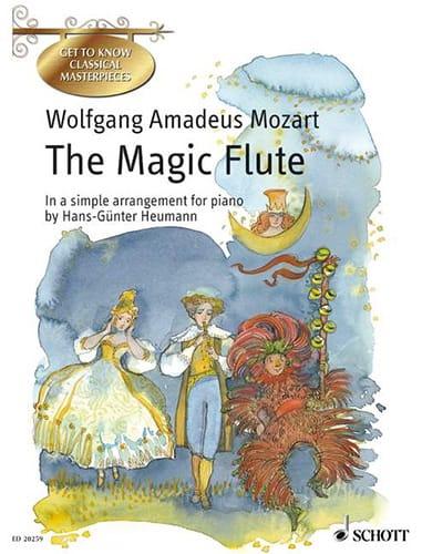 The Magic Flute - MOZART - Partition - Piano - laflutedepan.com